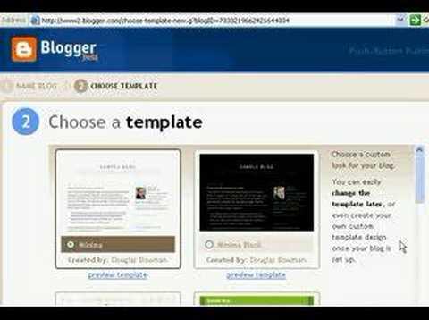Belajar Bisnis Online - 5 menit Buat Website di Blogger.com