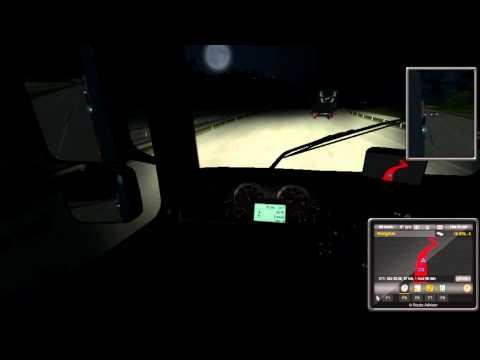 Euro Truck Simulator 2 - 1. Ach jáj to moje šoférovanie