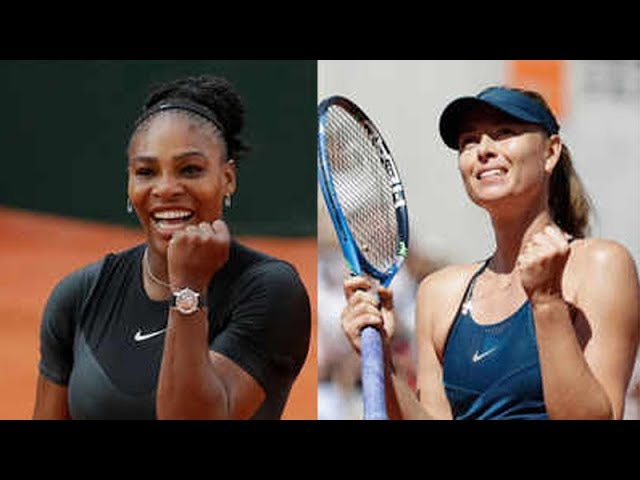 French Open: Serena, Sharapova renew rivalry in Paris