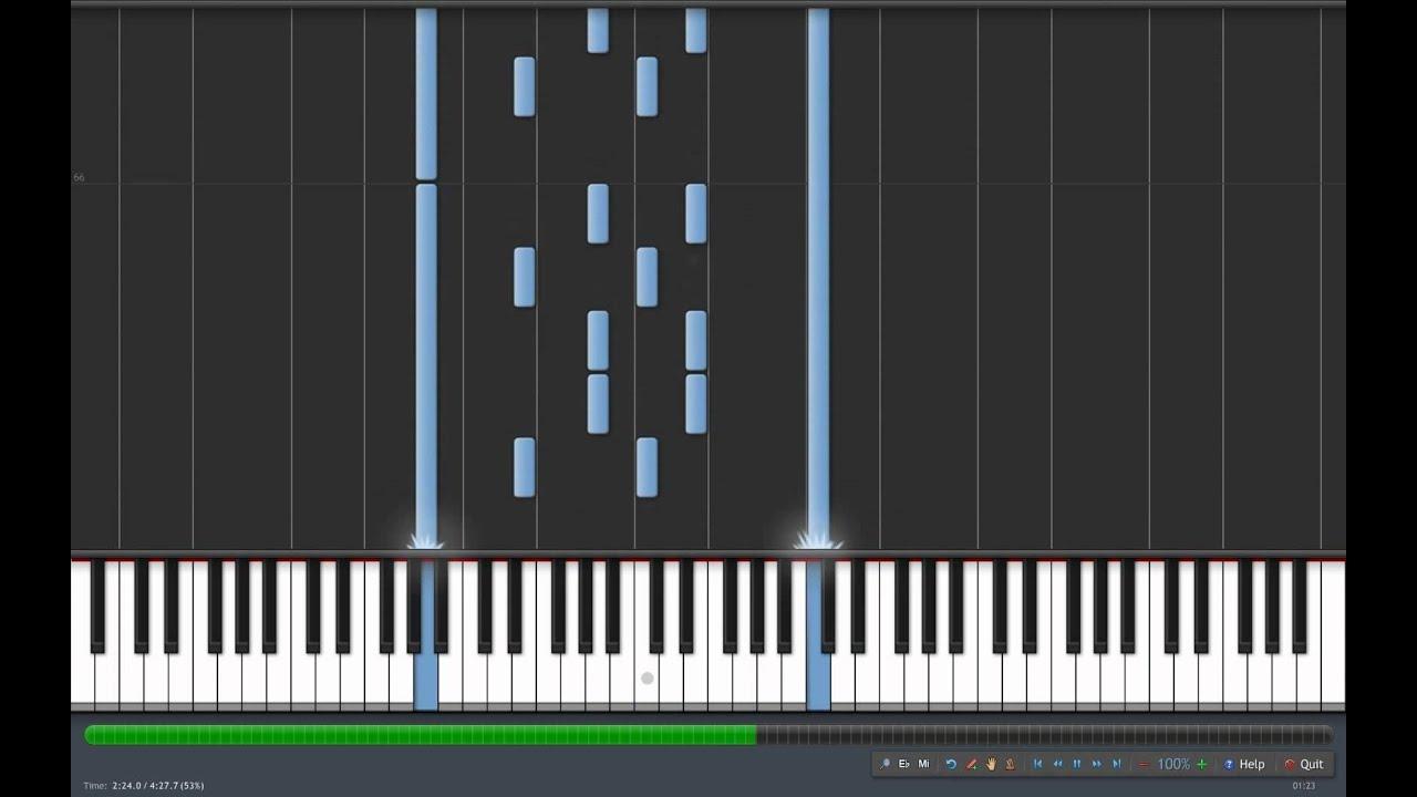 Synthesia - Ave Maria (Piano) [Schubert] - YouTube
