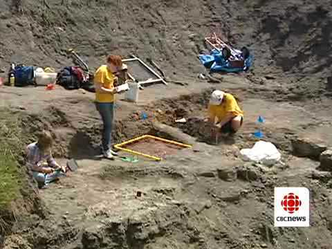 Canadian Fossil Discovery Centre - Media Coverage by CBC Manitoba Video