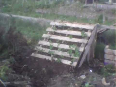 Making A Strawberry Planter Out Of Pallets How To Make