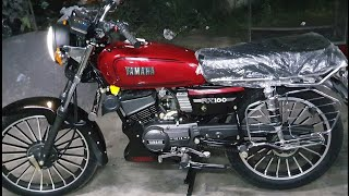 Yamaha?RX?Dual?RED AND??Black Mirror Finish(PaintingFromCm)#GENIUNE#THeBEStMODIFiYOUNEED