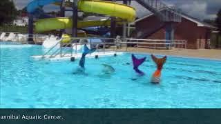 Lifeguards preparing for start of Mermaid School