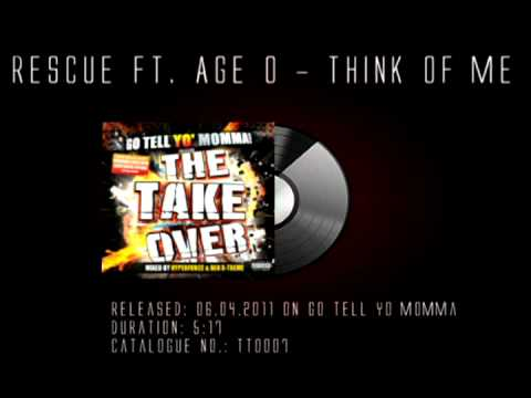 Release News: Rescue ft. Age O - Think Of Me (Go Tell Yo Momma)