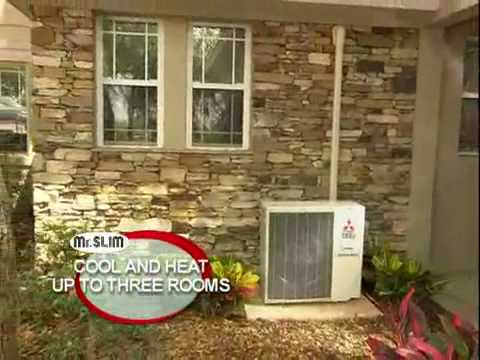Mitsubishi Mr Slim Ductless Mini Split Air Conditioner