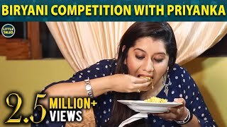 #Biriyani Competition with Priyanka | Fun Part 1 | Little Talks
