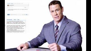 John Cena Goes Undercover on Twitter, YouTube, and Reddit  PART 2