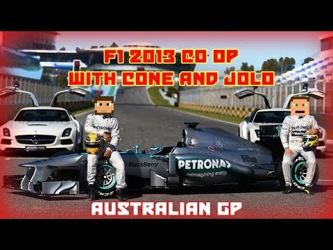 "F1 Co Op Championship Season 3 : ""Australia - Oil Change"""