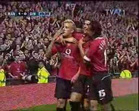 Manchester United - Dinamo Bucuresti 3-0(rezumat)