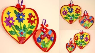 Wall Decorations With Paper - Paper craft ideas for room decoration - Wall hanging ideas with paper
