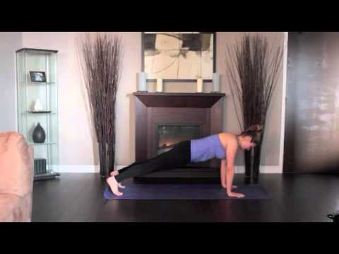 Yoga Beginner High Plank