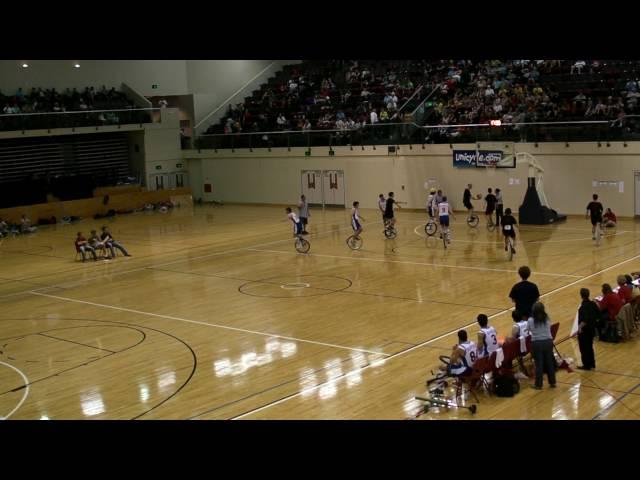 UNICON XV Unicycle Basketball Final pt1