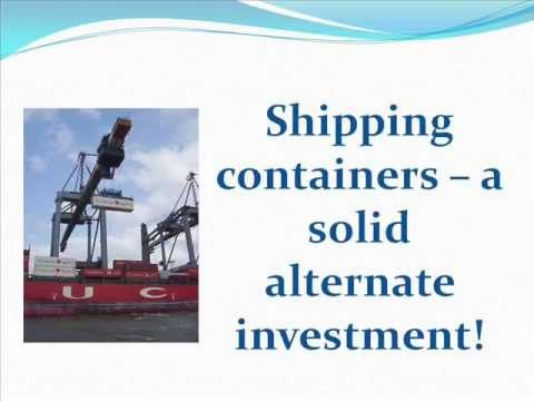 How to invest in Shipping containers