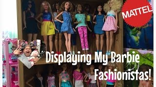 Let Me Show You How I Display My Barbie Fashionistas Collection✨
