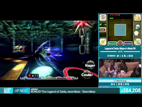 Legend of Zelda: Majora's Mask 3D by NOUFozzy in 2:17:30 - Summer Games Done Quick 2015 - Part 81