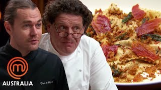 Marco Pierre White and Shannon Bennet Decide Who Cooked The Best Ravioli  - MasterChef World