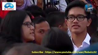 Presiden Jokowi Beserta ke Dua Anaknya Blusukan ke Kampung N... view on break.com tube online.