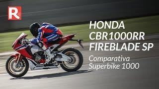 Honda CBR1000RR Fireblade SP 2018 - Prova in pista - Comparativa Superbike 2018