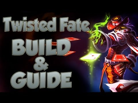 League of Legends - Twisted Fate Build - with Commentary