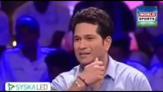 SHAHID AFRIDI is Dangerous Player said by Sachin TenDulkar
