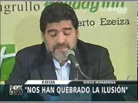 Diego Maradona llamo mentiroso a Julio Grondona y traidor a Carlos Bilardo
