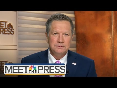 John Kasich On GOP Primary, Brussels Attack (Full Interview) | Meet The Press | NBC News
