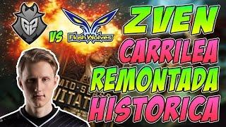 ZVEN CARRILEA REMONTADA HISTÓRICA | G2 vs Flash Wolves (MSI) Resumen y Highlights