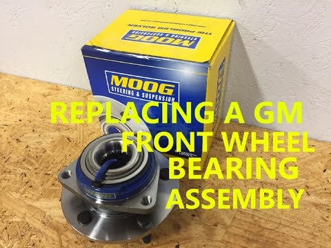 How to Replace a Front Wheel Bearing Assembly / Hub Bearing for a GM vehicle