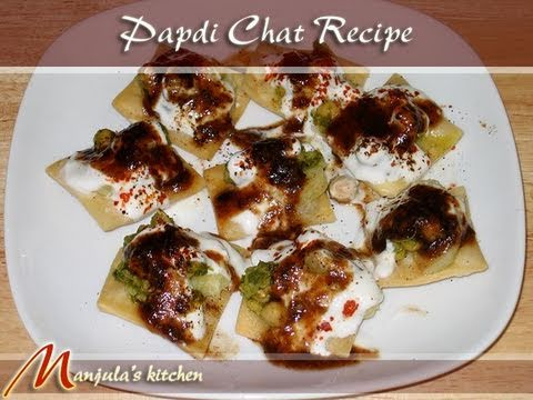 Papdi (Papri) Chaat Recipe by Manjula