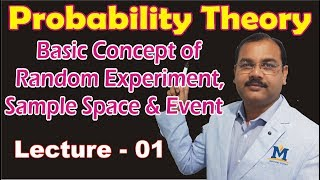 Probability Theory – Concept of Random Experiment, Sample Space and Event in Hindi