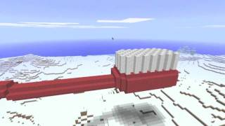 Minecraft - Giant Toothbrush (Time-Lapse)