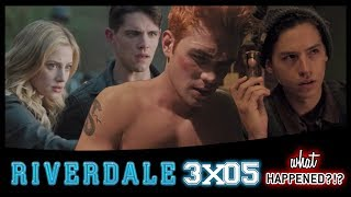 RIVERDALE 3x05 Recap: The Great Escape & More Blue Lips - 3x06 Promo