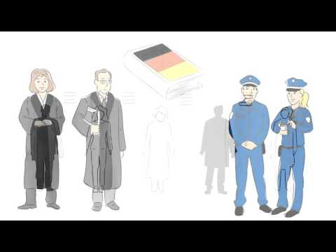 Lessons in law: film for refugees and asylum seekers about the German criminal law  - Bayern
