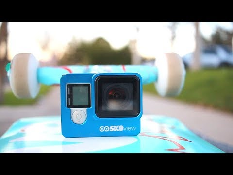 AWESOME GOPRO SKATEBOARD MOUNT!!!