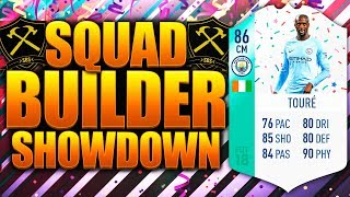 EPIC FUT BIRTHDAY TOURE SQUAD BUILDER SHOWDOWN! FIFA 18 ULTIMATE TEAM