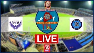 Rangareddy Risers  Vs  Karimnagar Warriors LIVE | G Venkataswamy Memorial Telangana T-20 League