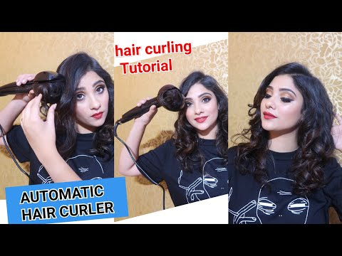 GET BEAUTIFUL CURL USING AUTOMATIC HAIR CURLER
