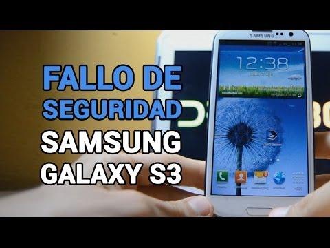Saltar patrón de desbloqueo en Android   Error Samsung Galaxy
