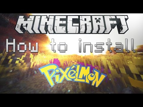Minecraft 1.8 How To Install Pixelmon