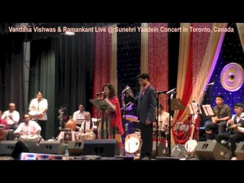 Vandana Vishwas & Ramankant - Sunehri Yaadein - Itna Hai Tumse...