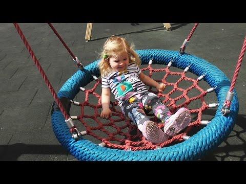 ✿ Vlog СУПЕР! Детская Площадка Диана Играет на Площадке VLOG Children's play yard for kids