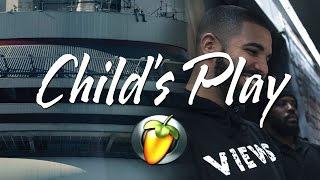 Drake - Child's Play (Views Instrumental Remake FL Studio)