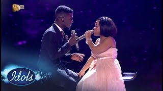Top 3 Reveal Duets: Thando & Karabo – Idols SA | Mzansi Magic
