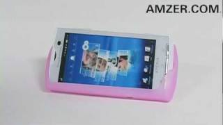 Amzer Silicone Skin Jelly Case for the Sony Ericsson Xperia X10