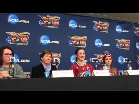 Post Game: Frozen Four, Women's Hockey vs. Boston College