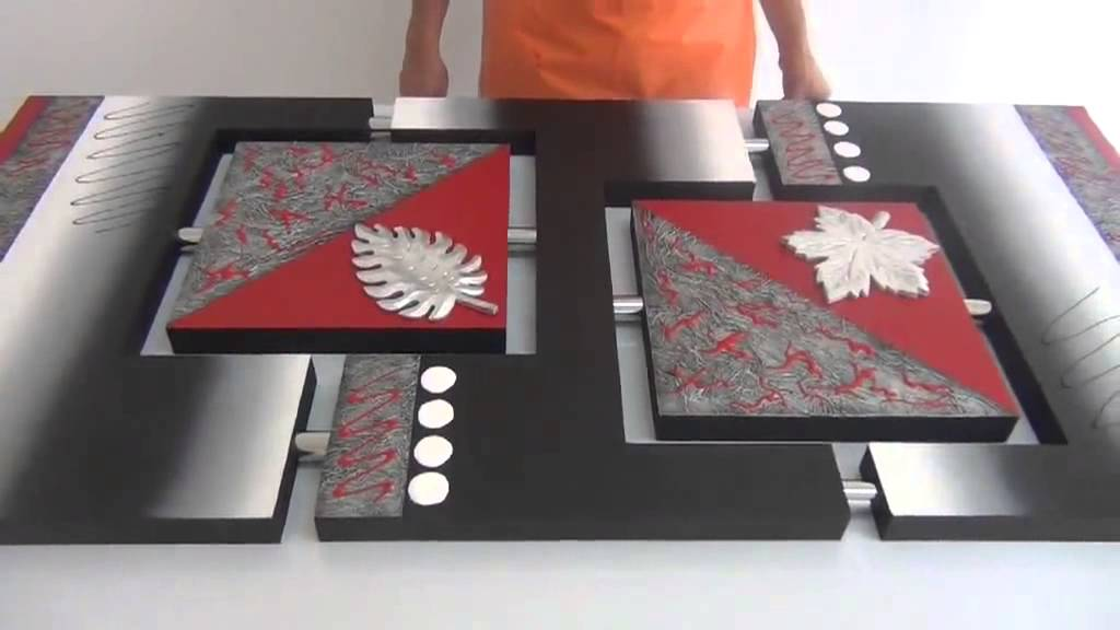 Curso cuadros decorativos y tecnicas en madera youtube for Cuadros con relieve modernos