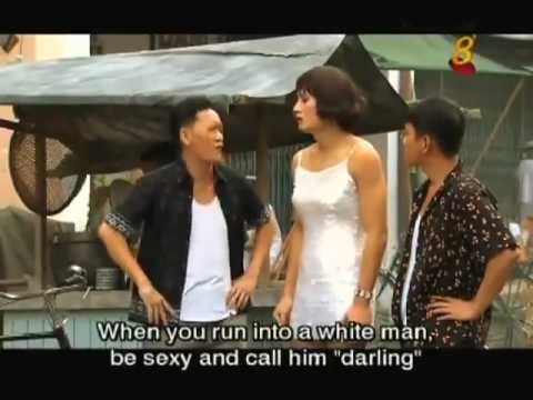 Portrayal of transvestite prostitutes at Bugis Street in Channel 8 TV serial