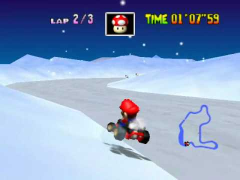 Mario Kart 64: Frappe Snowland -ZKuDApgqIHg
