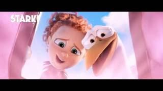 """Animācijas filmas """"Stārķi"""" ģimeniskās brīvdienas kinoteātrī CINAMON!"""